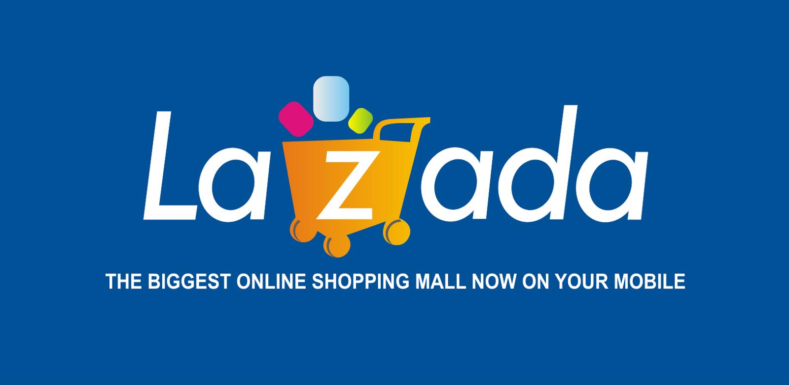 Logo Lazada ~ Toko Belanja Online - Kumpulan Logo Lambang