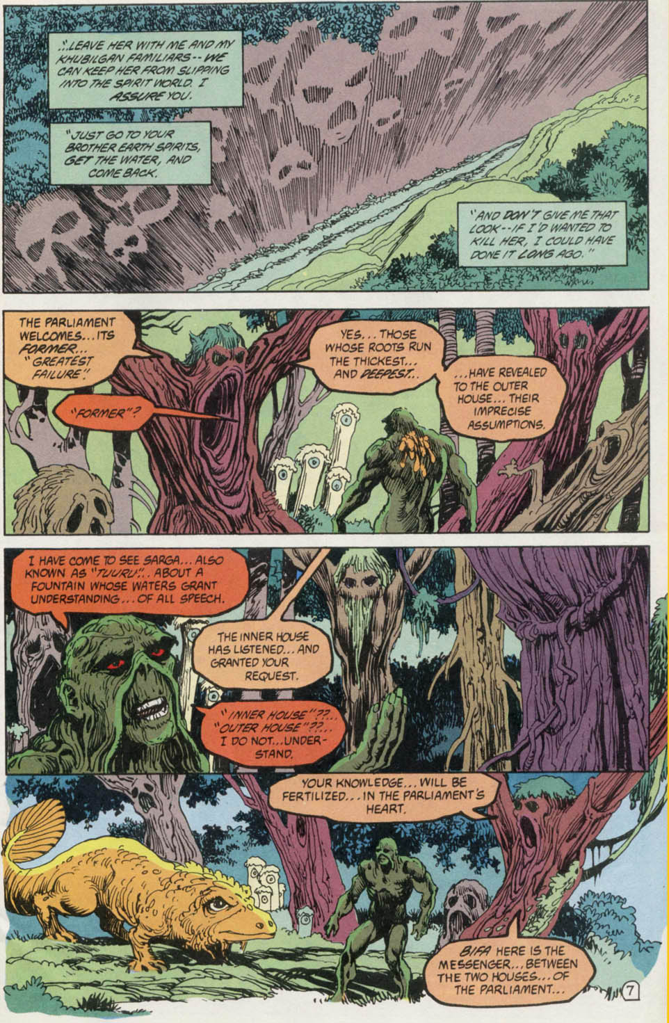 Swamp Thing (1982) Issue #100 #108 - English 8
