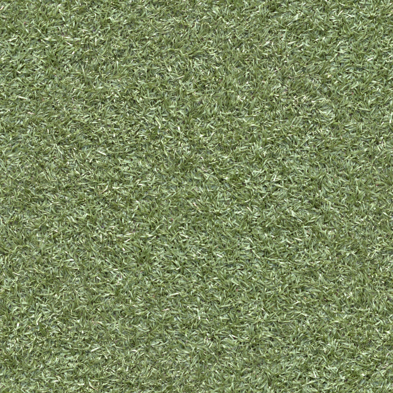 (GRASS 5) Plastic turf lawn green ground field seamless texture 2048x2048