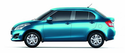 2017 Maruti Suzuki Swift Dzire Blue wallpaper