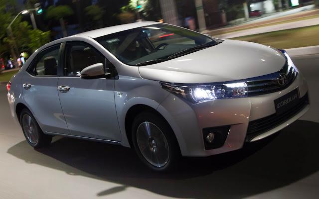 Toyota Corolla: reajuste de preço