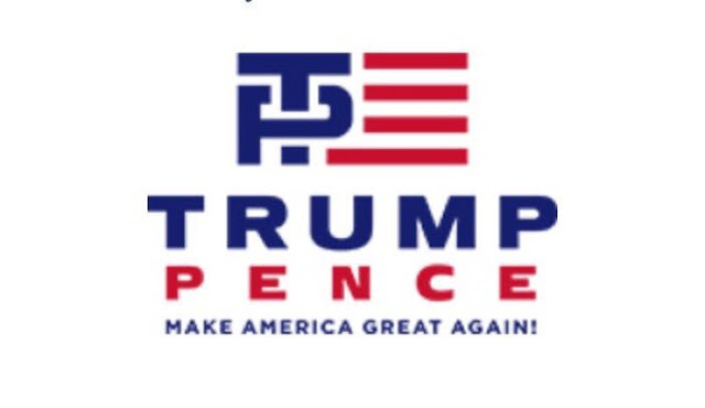 Trump Pence Logo  aka TP Logo