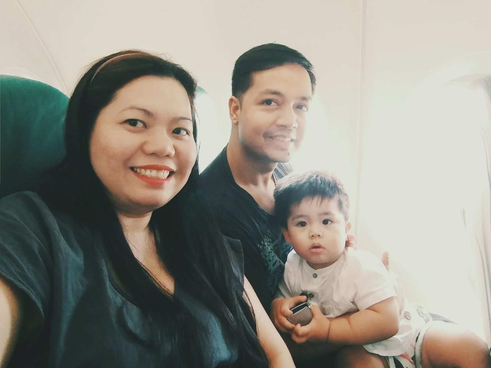 Family traveling post COVID-19 lockdown