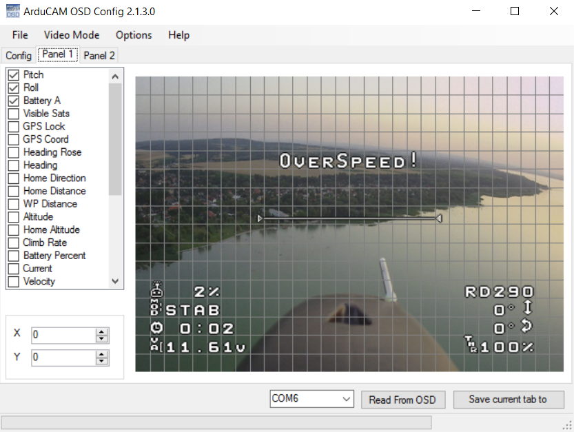 FrSky X8R - Micro MinimOSD using minoposd and RSSI | FatRotor