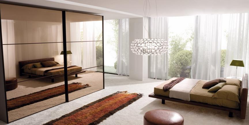 Consigli d 39 arredo il colore marrone nell 39 arredamento - Colore pareti camera da letto mobili ciliegio ...