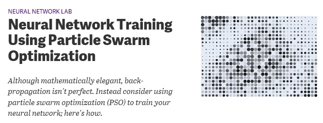 Buku Belajar Machine Learning dengan Python-Neural Network Training Using Particle Swarm Optimization