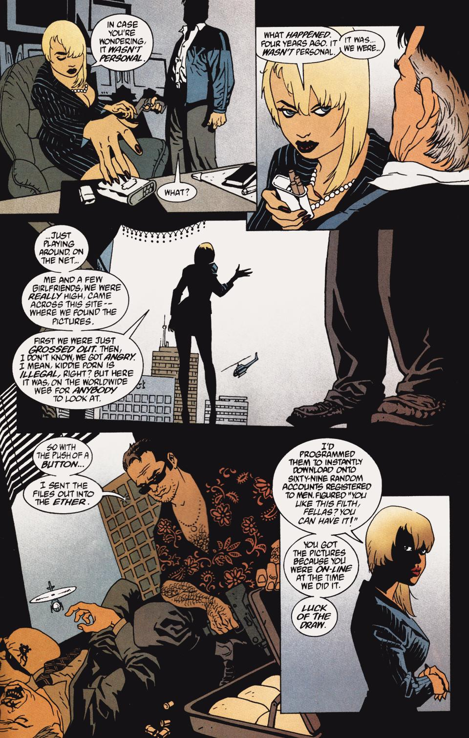 Read online 100 Bullets comic -  Issue #5 - 13