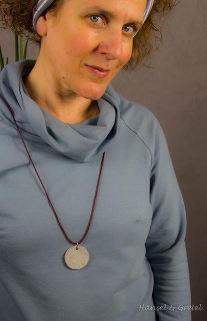 Nähen Sweatkleid für Damen | Frau Polly von Fritzi und Schnittreif  | Kuschelkleid für den Herbst  | Kuschelsewat von Lillestoff  | Damenmode selbst genäht | haensel-gretel.com DIY Blog