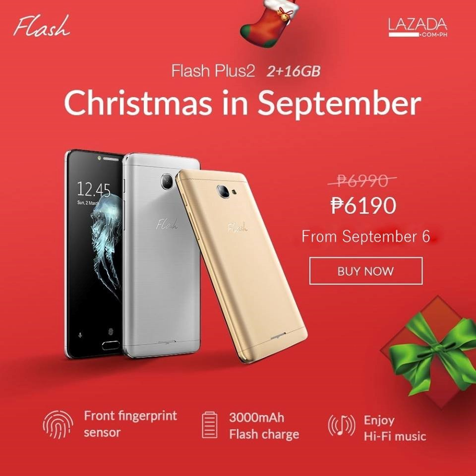 Flash Plus 2 now P6190 - Christmas Sale