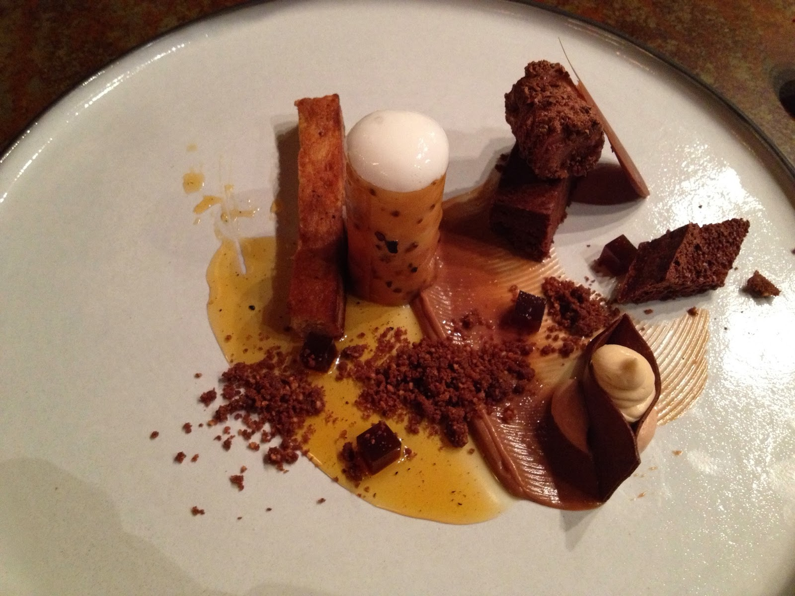 Cape Town - Assiette of chocolate