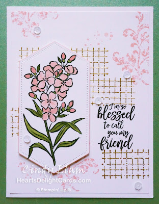 Heart's Delight Cards, Southern Serenade, Timeless Textures, Stampin' Up!