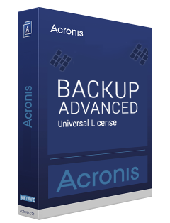 Acronis Backup Advanced Universal 11.7.50054 poster box cover