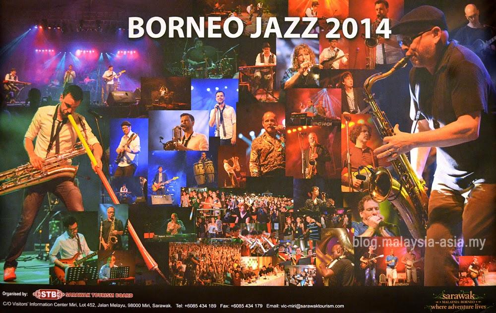 Borneo Jazz Festival 2014 Poster