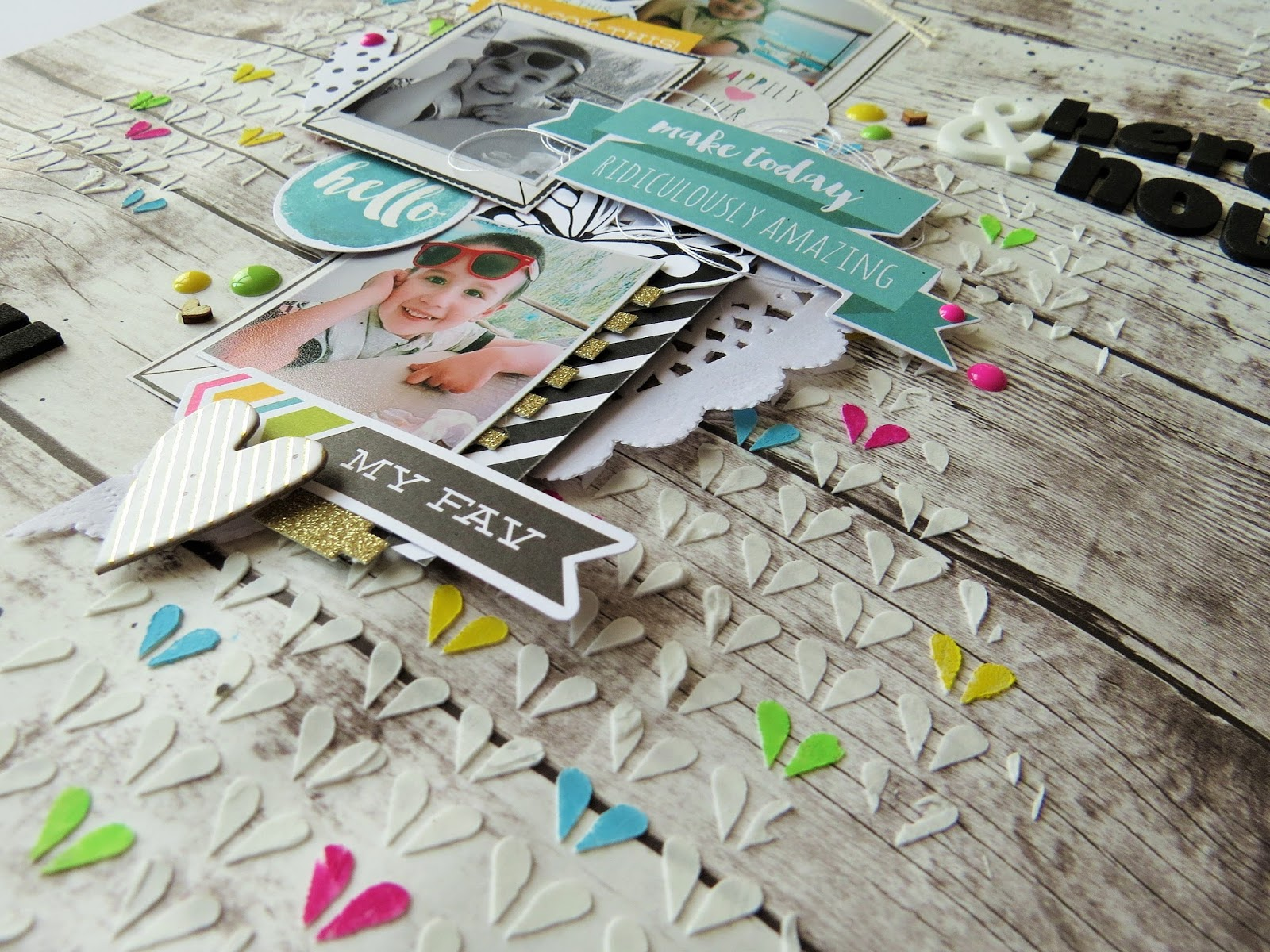 La stanza creativa di lisa scrapbook layout here now for Generatore di layout della stanza