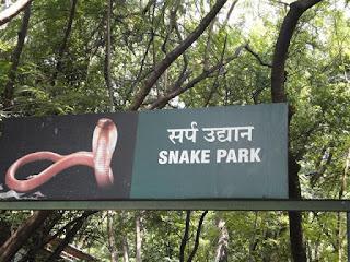 Tourist Place At Pune Katraj Snake Park