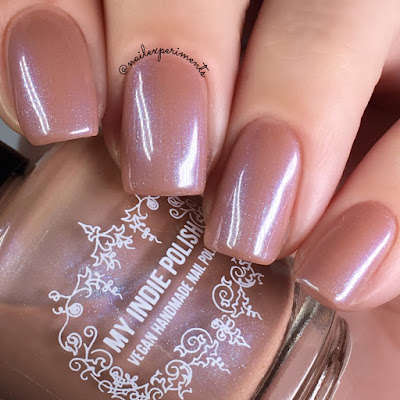 My Indie Polish Toast of the town swatches Indie Expo Canada 2018 exclusive