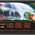 Đồng hồ lịch vạn niên điện tử treo tường đẹp