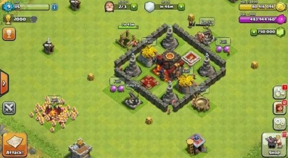 Mod Apk Clash of Clan