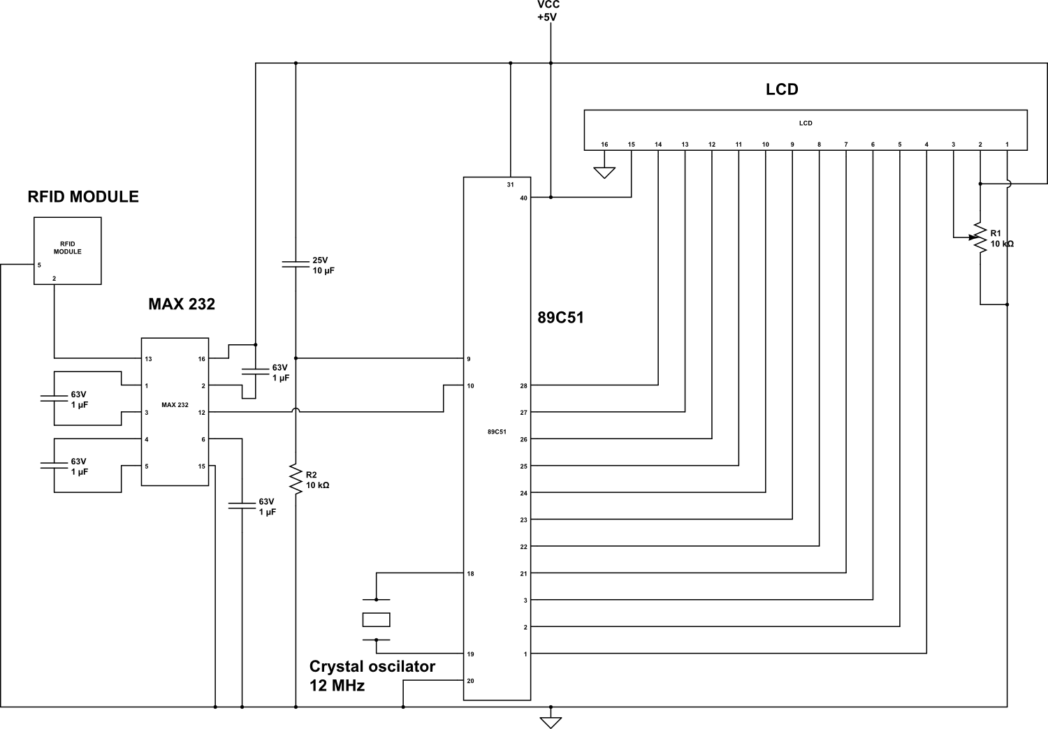 hight resolution of 8051 microcontroller circuit 8051 microcontroller diagram 8051 microcontroller circuit diagram 8051 microcontroller programmer circuit new projects