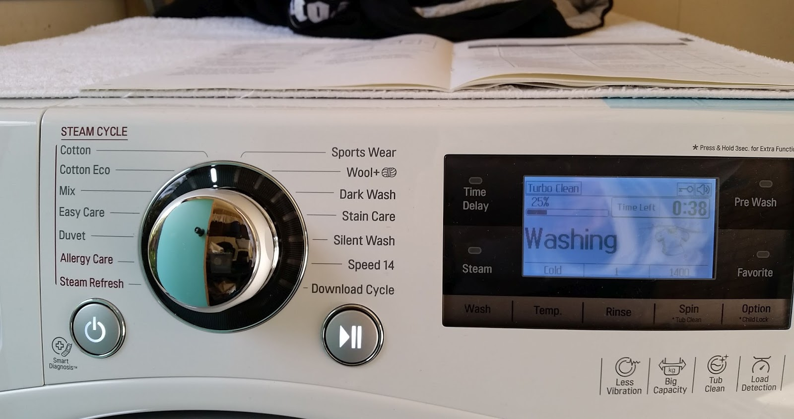 Lg washer download cycle