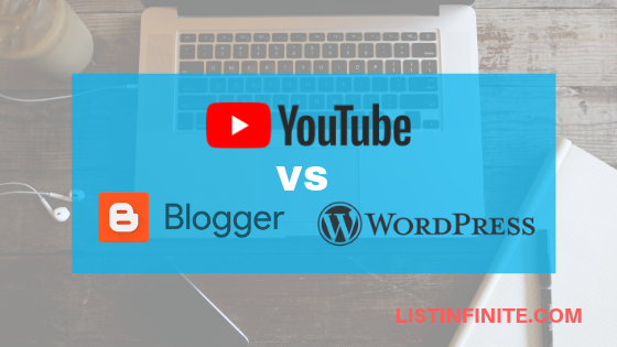 Differences between Youtube and Blogging