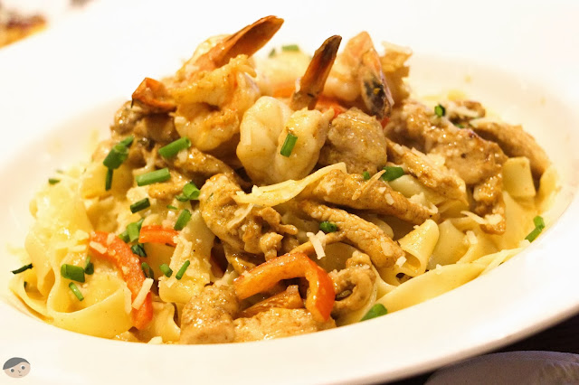 Cajun Shrimp Pasta of Fridays