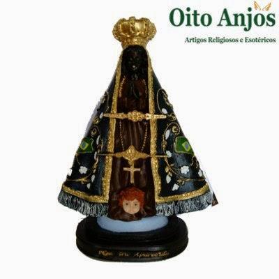 Nossa Senhora Aparecida * Oito Anjos Artigos Religiosos e Loja Esotérica