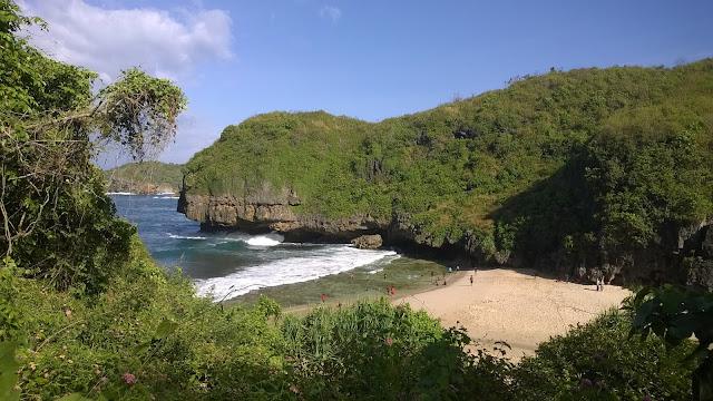 Pantai terbaik untuk camp kemping pantai greweng sedahan mbloogers