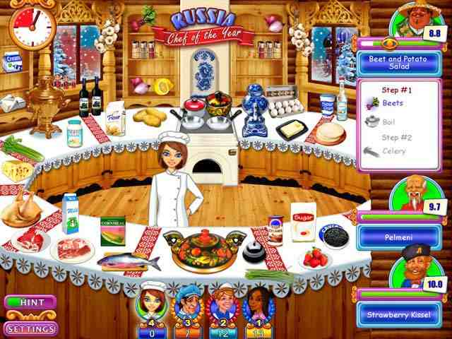 Go Go Gourmet: Chef of the Year Game Free Download