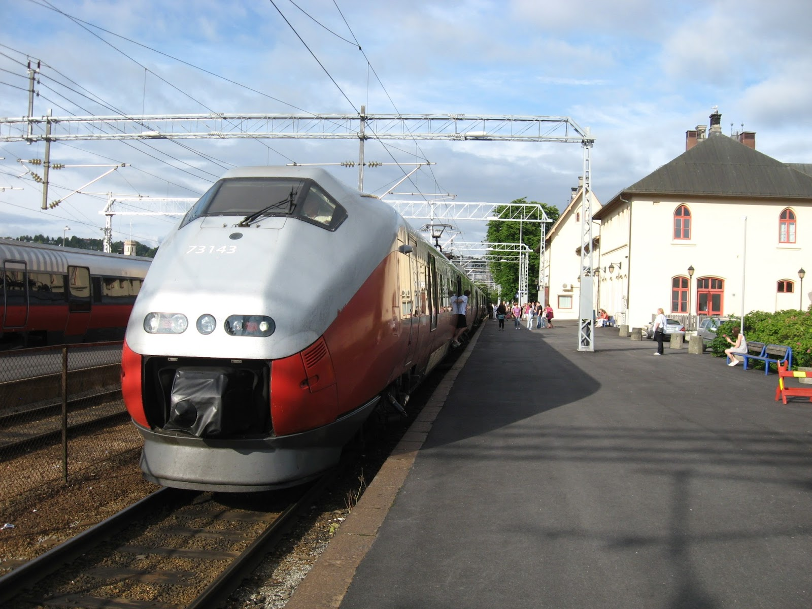 copenhagen to oslo train