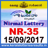 keralalotteries, kerala lottery, keralalotteryresult, kerala lottery result, kerala lottery result live, kerala lottery results, kerala lottery today, kerala lottery result today, kerala lottery results today, today kerala lottery result, kerala lottery result 15.09.2017 nirmal lottery nr 35, nirmal lottery, nirmal lottery today result, nirmal lottery result yesterday, nirmal lottery nr35, nirmal lottery 15.9.2017, 15-9-2017 kerala result