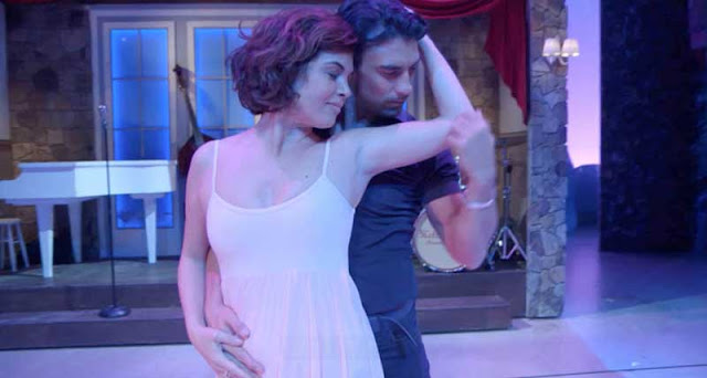 Samanta VIllar y su momento feliz a lo Dirty Dancing