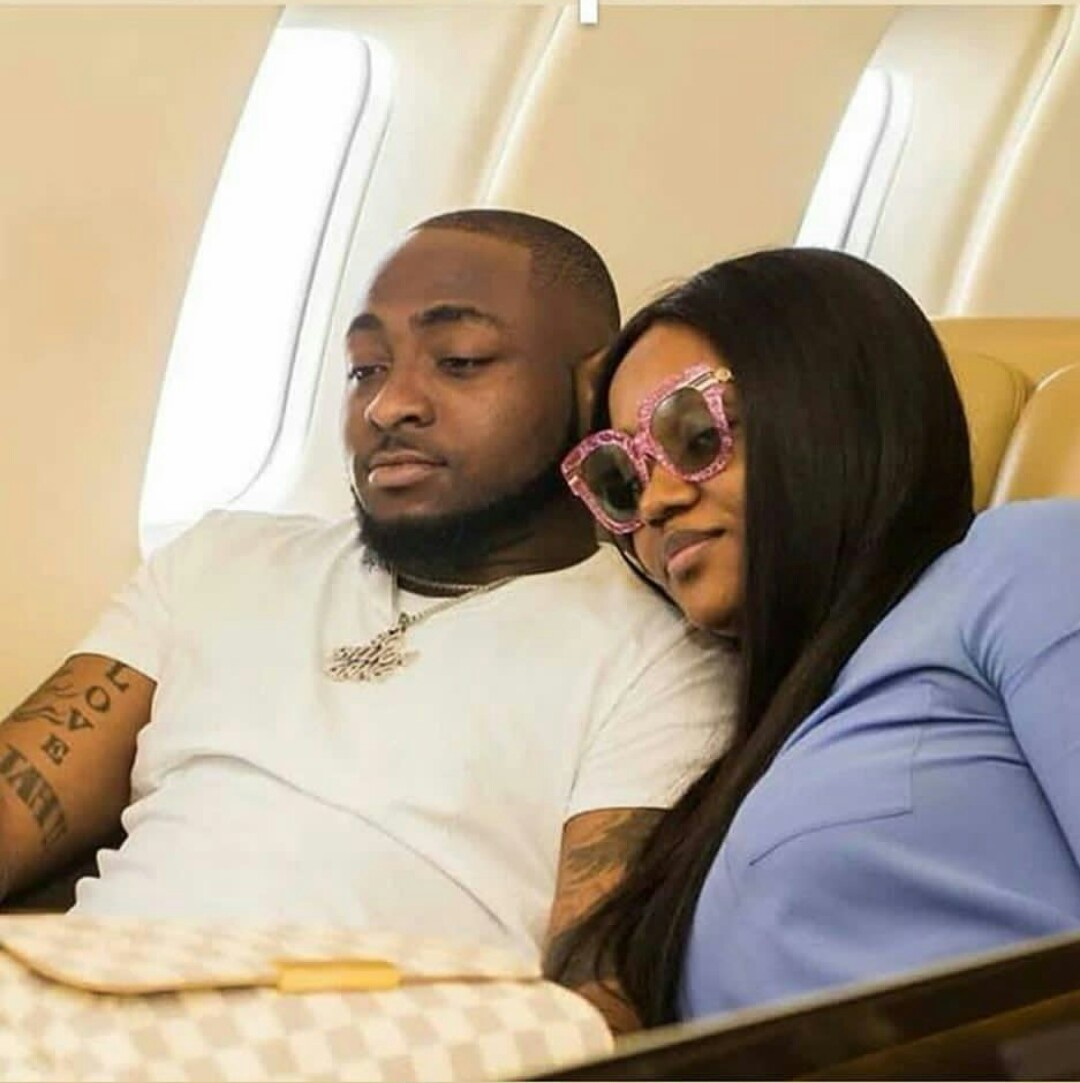 Davido weeps as he apologized to his beautiful girlfriend, Chioma