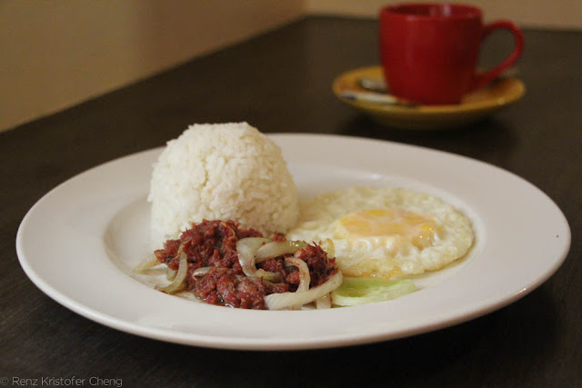 Filipino Breakfast - Corned Beef
