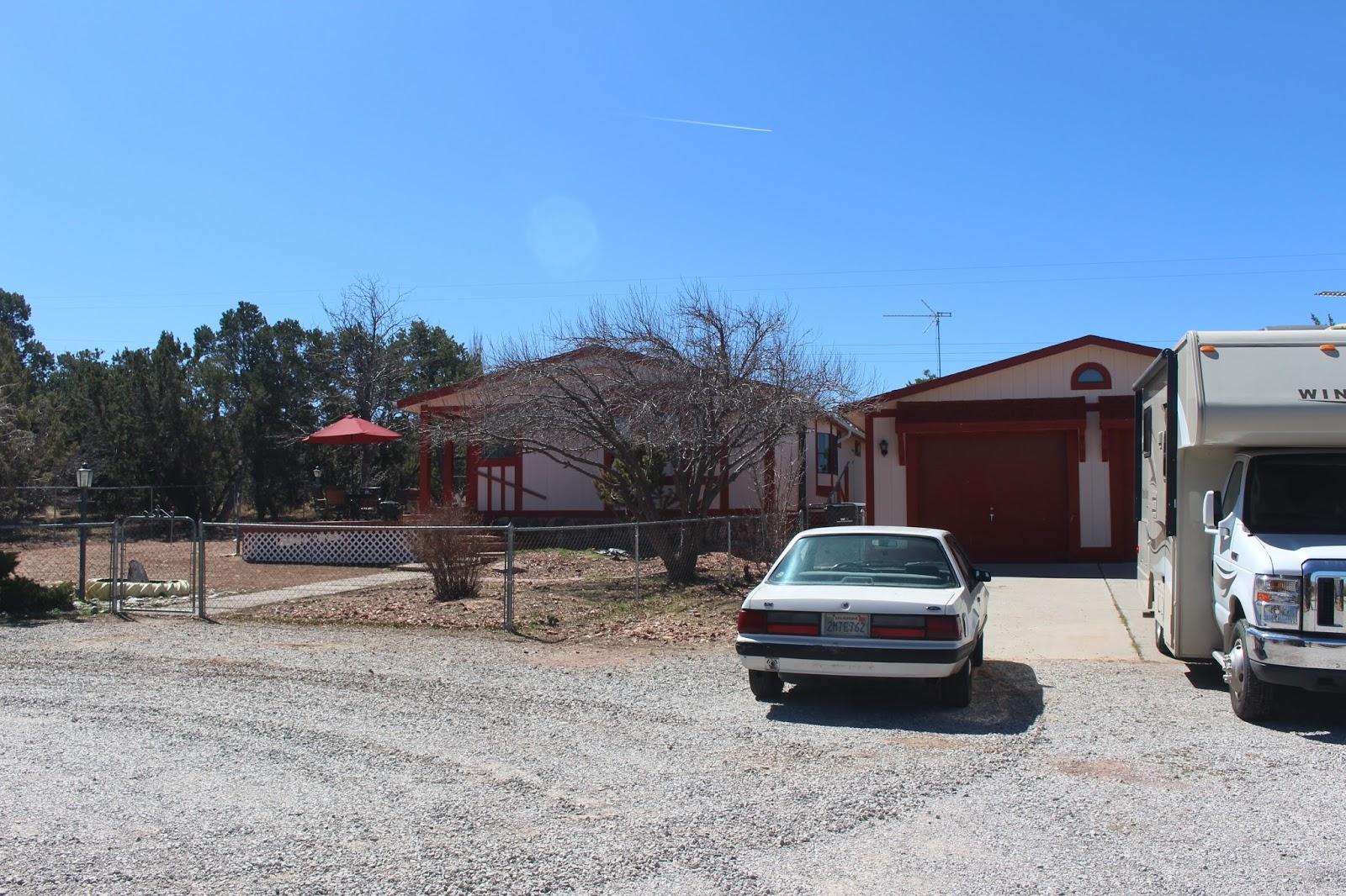 Armand 39 s rancho del cielo rv garage potential locations for Planimetrie del garage rv