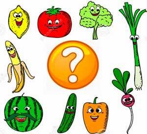 Adivinanzas de frutas y verduras