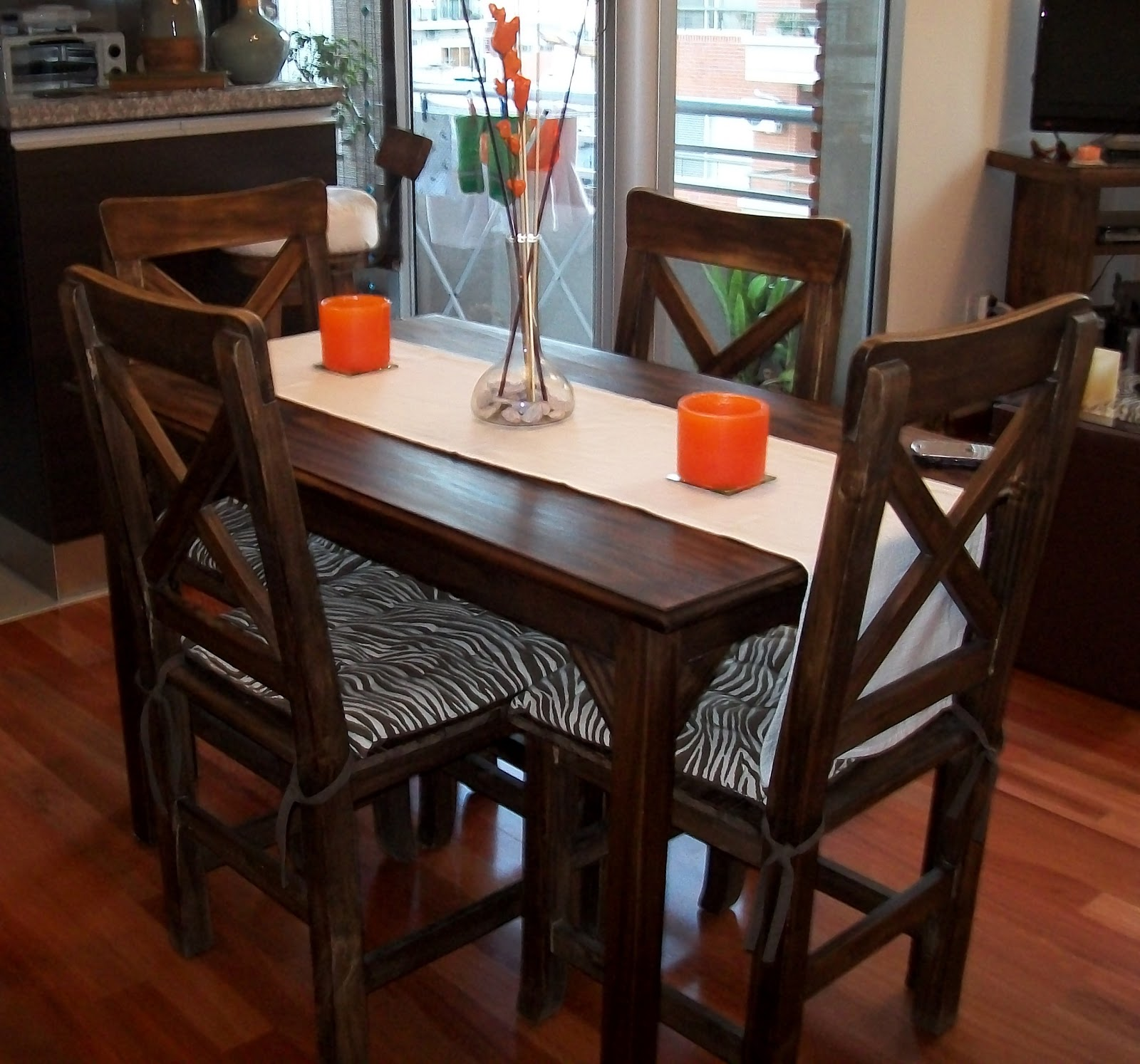 Decoracion y dise o living comedor dpto 2 ambientes for Decoracion living departamento 2 ambientes
