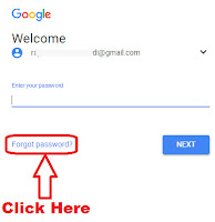how to reset your gmail account password