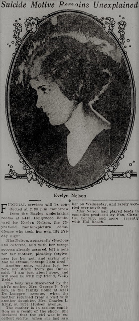 Evelyn Nelson Suicide