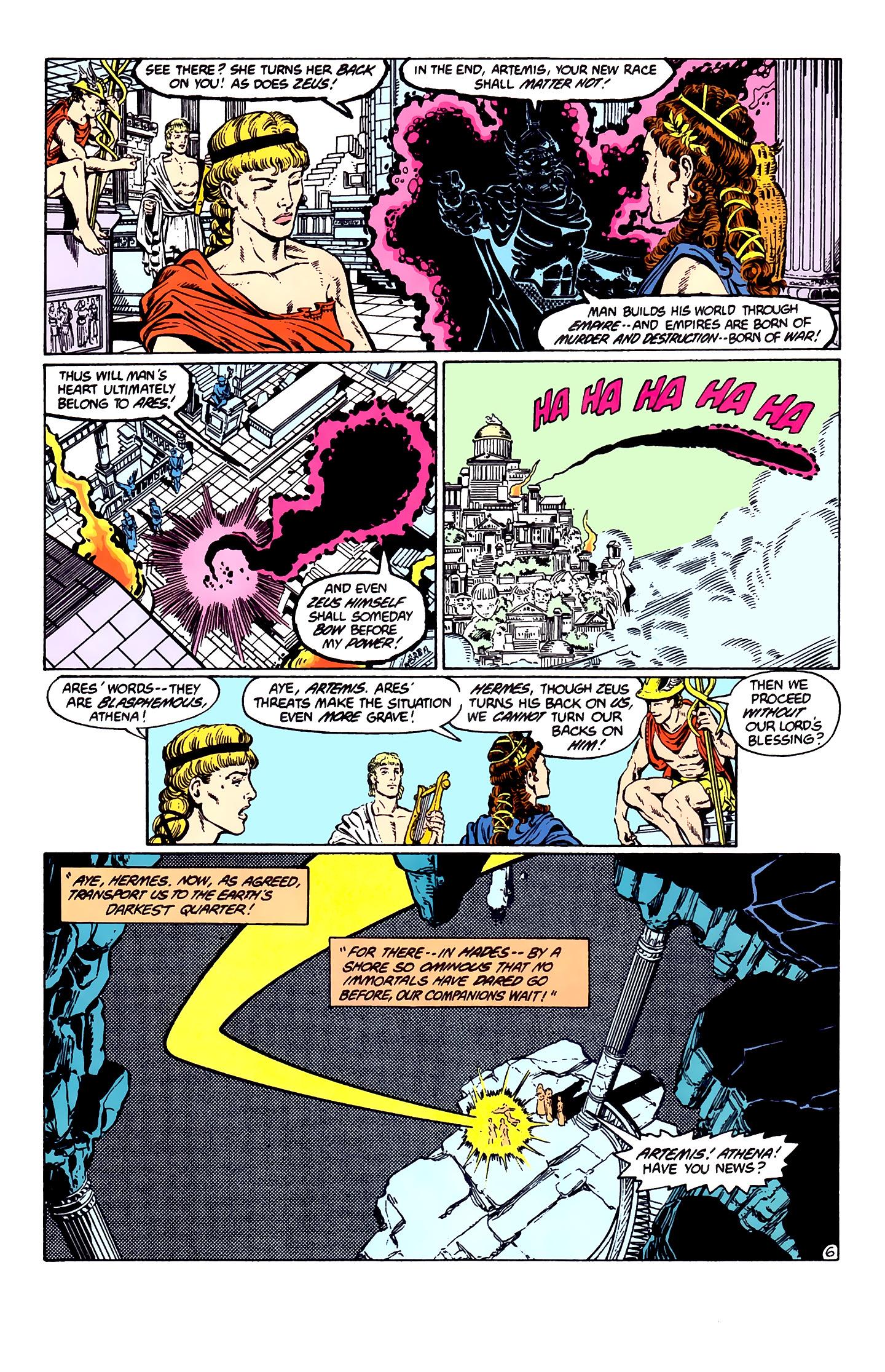 Read online Wonder Woman (1987) comic -  Issue #1 - 8