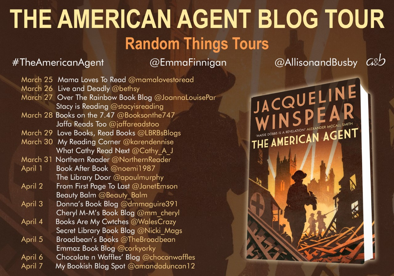 The American Agent Blog Tour