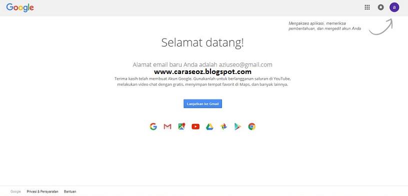 Cara Membuat Email Di Google Tutorial Cara Membuat Gmail Jagad Id