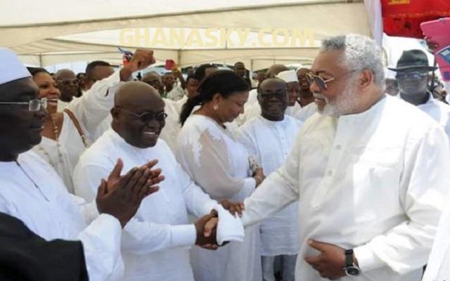 Akufo Addo Not A Tribalist – J. J. Rawlings