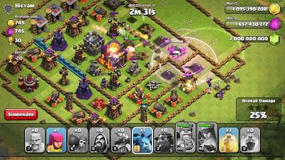 Flamewall - Clash of Clans Mod Apk