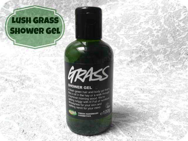 A picture of Lush Grass shower gel