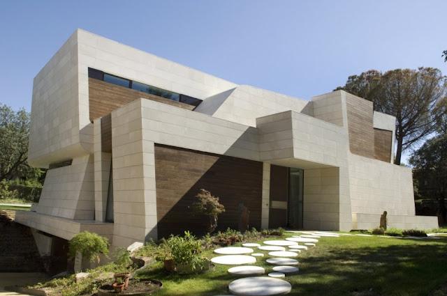 Dise o de casas home house design casas con piscina - Rafael llamazares arquitecto ...