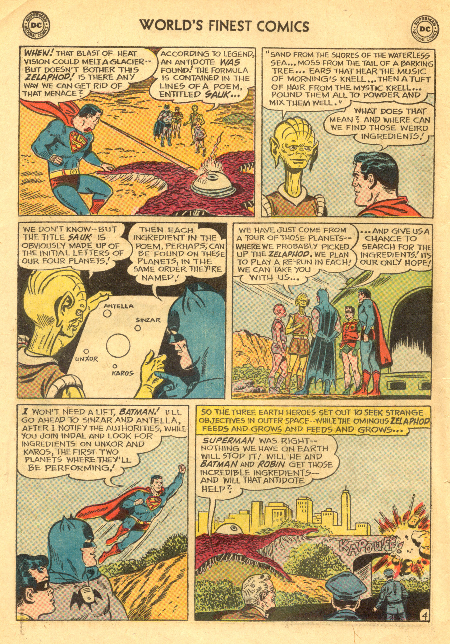 Read online World's Finest Comics comic -  Issue #130 - 6