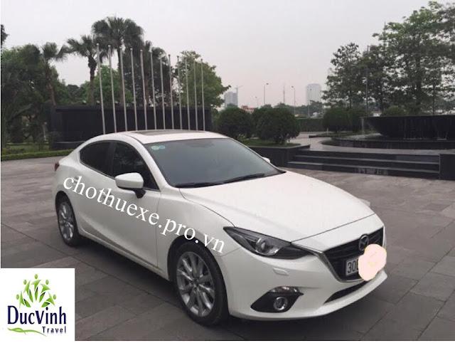 Cho thuê xe Mazda 3 2016 đi sự kiện tại hà nội