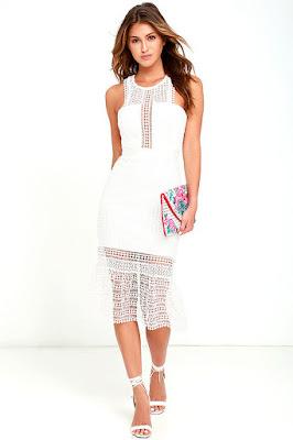 Vestidos blancos para jovencitas