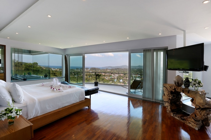 Bedroom views in Modern Villa Beyond in Phuket